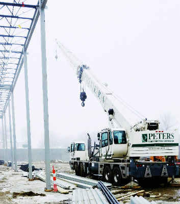 Peters Construction Crane